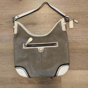 Medium/Large Leather Coach Purse